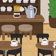 山ぶどうのモチーフコーヒーカップ(3点セット)2組~鹿児島県阿久根市【ふるさと納税】