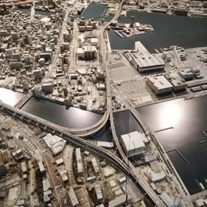福岡市中心部のミニチュア模型がこんなところに!