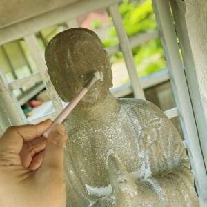 清巌寺の「おしろい地蔵」