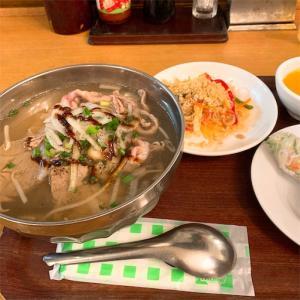 とりま無事に終了。と、ベトナム料理。