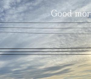 朝、寒くてやっぱり冬になるんだ!なんて実感!