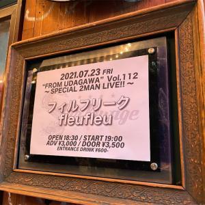 フィルフリーク fleufleu 2マンLIVE@渋谷スターラウンジ20210723
