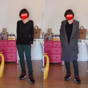 20191106水,08金 今日の服/歩いた距離