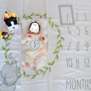 生後1ヶ月!