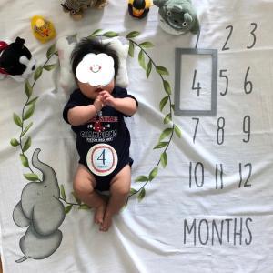 生後4ヶ月!
