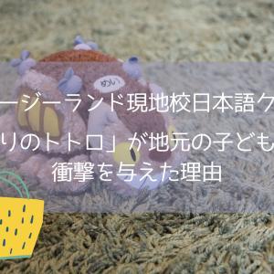 【ニュージーランド現地校日本語クラス】「となりのトトロ」が地元の子どもたちに衝撃を与えた理由