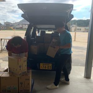 支援物資を鋸南町役場に届いてきました❗️