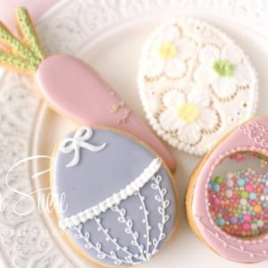 【募集中】シャカシャカ可愛いイースターエッグアイシングクッキーレッスン