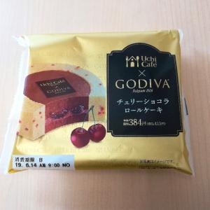 お菓子な世界~Uchi Cafe×GODIVA チェリーショコラロールケーキ~