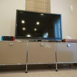 「USMハラーのテレビ台」一生モノの家具との出会い。
