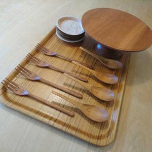 U子さんの、木工食器メンテナンス。