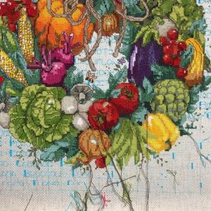 Autumn's Harvest  Wreath(17) 夏休み