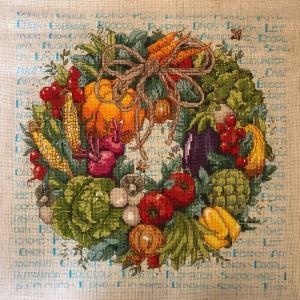 Autumn's Harvest  Wreath(完)