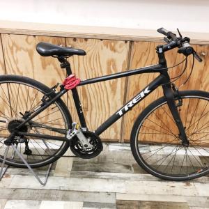 通勤で使われているTREKクロスバイクのチェーン交換&洗浄を施行しました☆
