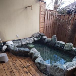 日光唯一のペットOKのペンション【アニマーレ】の貸切温泉について💕
