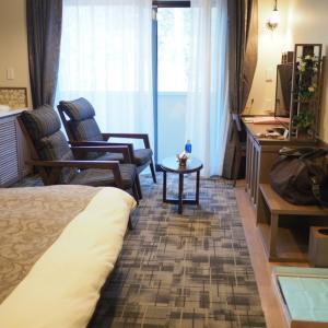 ルシアン旧軽井沢の【キングダブル】のお部屋に泊まりました!