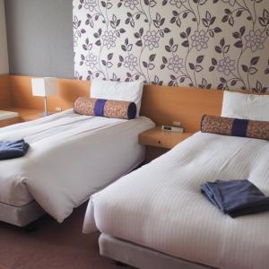星野リゾート磐梯山温泉ホテルのお部屋は、こんな感じだったよ!