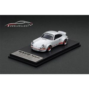 MODELCOLLECT RWB 930 Ducktail Wing Pearl White 1/64 予約受付中