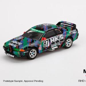 MINI GT Nissan スカイライン GT-R R32 Gr.A 1/64 予約受付中