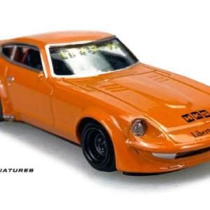 KJ Miniatures LBWK Fairlady S30 / GT-R R35 / Benz C63 1/64 予約受付中
