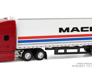 グリーンライト 2018 Mack Anthem 18 Wheeler Tractor - Trailer - 1/64 予約受付中