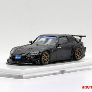 ONE MODEL Honda S2000 Spoon Street Version Black 1/64 予約受付中
