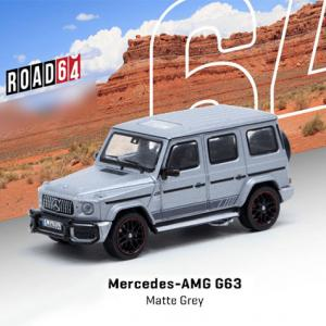 Tarmac Works Mercedes-AMG G63 Matte grey 1/64 予約受付中