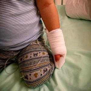 2歳11ヶ月息子緊急入院