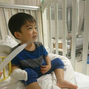 2歳息子、無事退院しました。