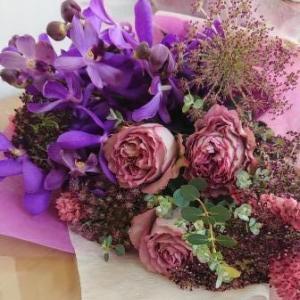 ブーケ風の花束