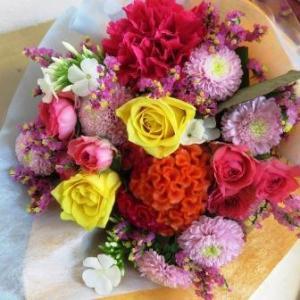 発表会に贈るお花束