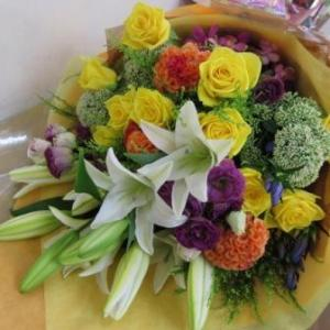 送別に贈る花束