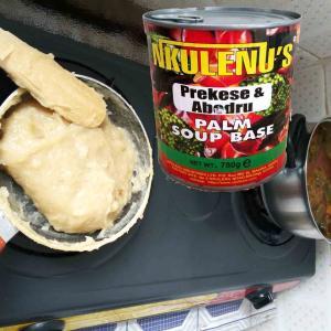 ガーナご飯(ガーナ料理)・・・第8弾【パームナッツスープ】