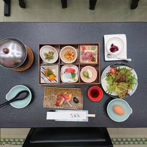 ふくしまからはじめよう⑧ 原瀧 朝食