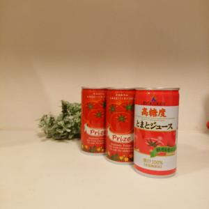 Prizeのトマトジュースでガスパチョ♪