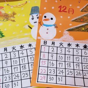 12月のカレンダー制作
