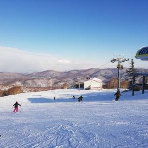 2019/2020シーズン 初スキー