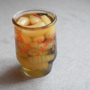 季節の瓶詰め*らっきょうの甘酢漬け(砂糖不使用)