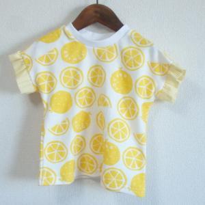 ハンドメイド*レモンのちびフリルTシャツ