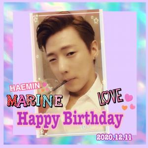 Happy Birthday〜♪(๑ᴖ◡ᴖ๑)♪