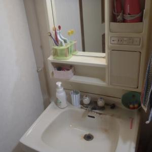 洗面所での手洗いは随分以前から出来なくなっていますが・・・・