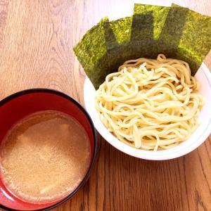日曜朝のつけ麺♪