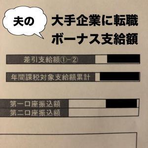 大手企業の夫ボーナス大公開!