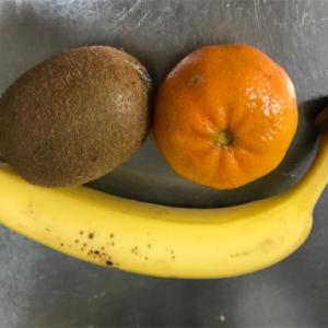【偏食】みかん、キウイ、バナナ