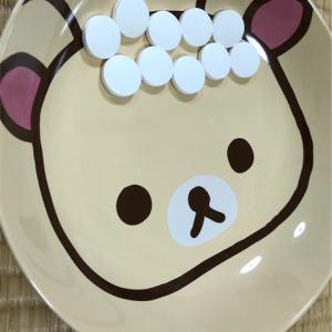 【偏食】リラックマのお皿で