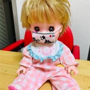 【感覚過敏】ネネちゃんにマスク