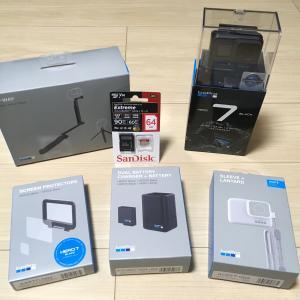 【GoPro HERO7 Black】ついに購入(・∀・)