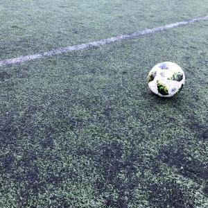 小学生サッカー トレーニングマッチ再開