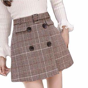 秋冬シンプルコーデに着たい。おすすめ柄スカート4つ