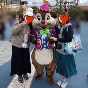 プラザのフリグリとダッフィー~11月7日~